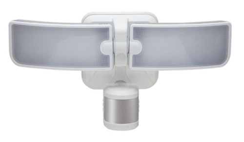 180 Degree Outdoor White LED Blade Motion Security Light