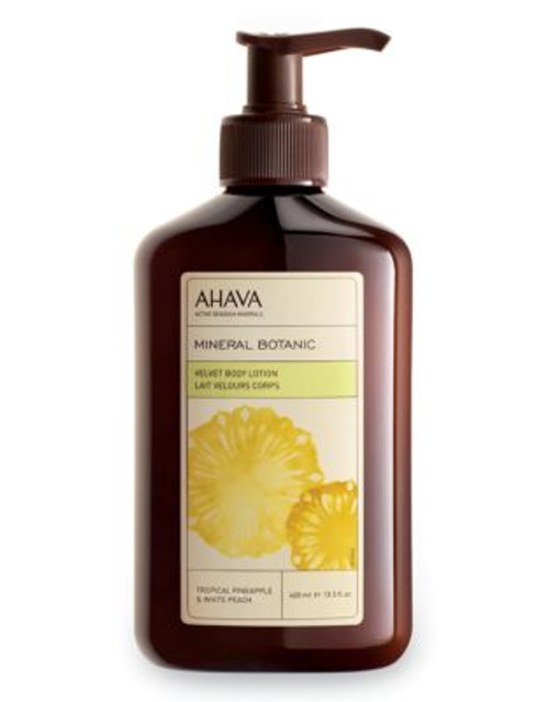 Ahava Mineral Botanic Body Lotion - Pineapple and Peach - 400 ML