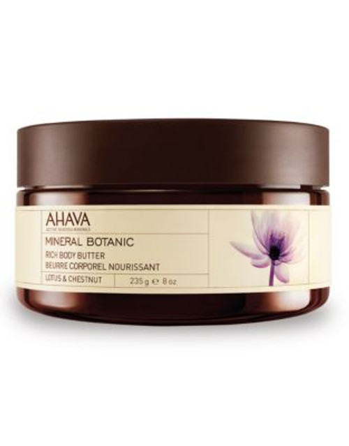 Ahava Mineral Botanic Body Butter - Lotus and Chestnut - 10 ML