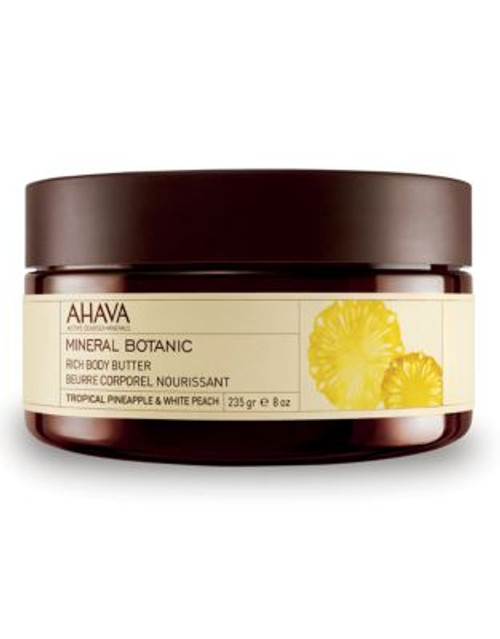 Ahava Mineral Botanic Body Butter - Pineapple and Peach - 10 ML