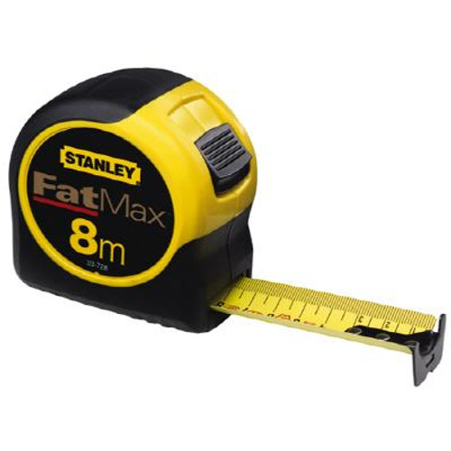 8M/26 Ft. x 1-1/4 In. Fatmax™ Metric/fractional Tape Rule Reinforced With Blade Armor™ Coating