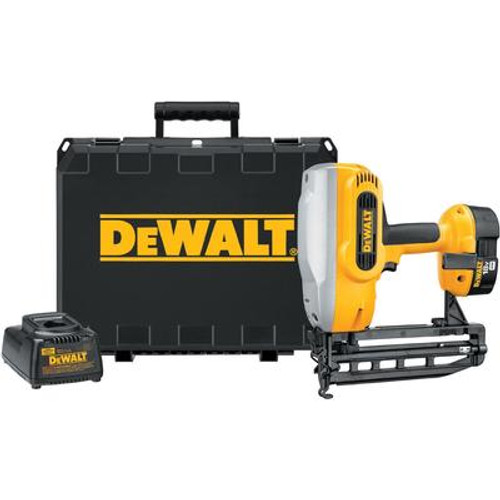 DeWALT 18V Cordless XRP™ 16 Gauge Straight Finish Nailer Kit