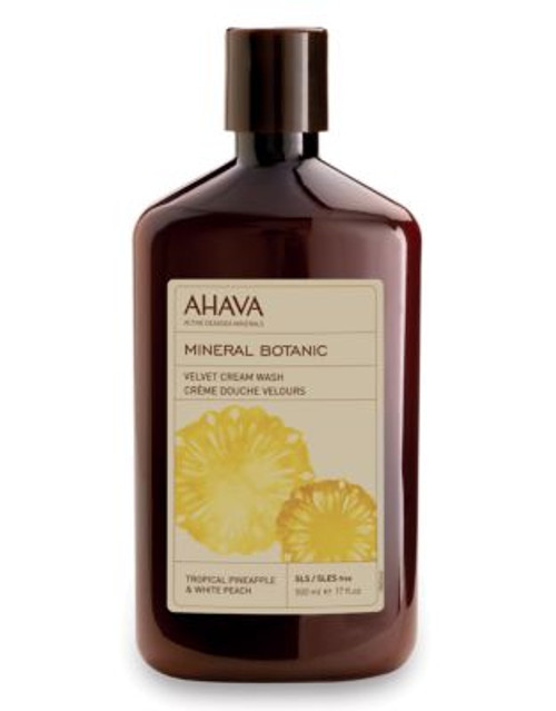 Ahava Mineral Botanic Cream Wash - Pineapple and Peach - 500 ML