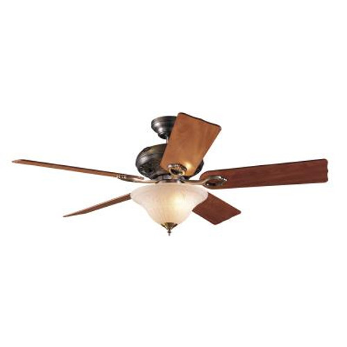 52 In. Auberge - Antique Pewter Ceiling Fan
