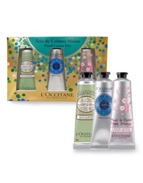 L Occitane Holiday Hand Cream Three-Piece Set