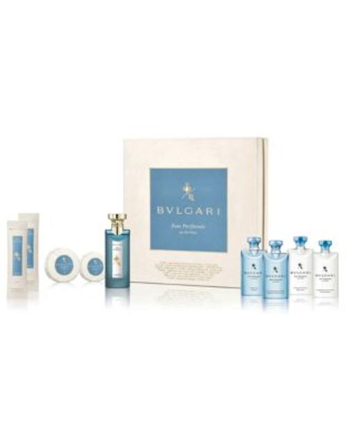 Bvlgari Nine-Piece Eau Parfumee Au The Bleu Set