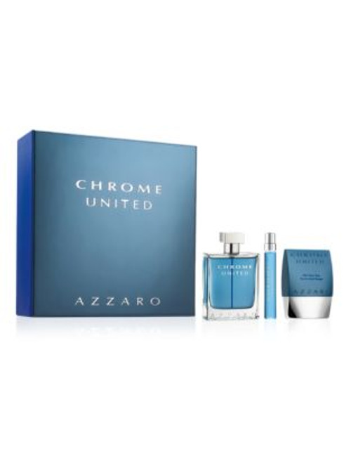 Azzaro Chrome United Holiday Set