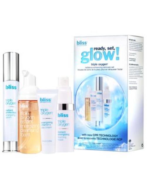 Bliss Triple Oxygen ready, set, glow!