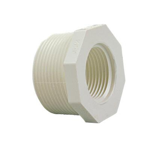 1 In. x 3/4 In. PVC Schedule 40 Bushing M x F