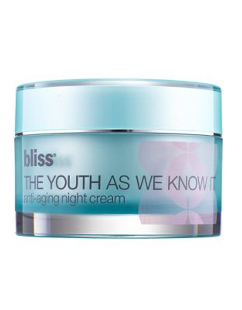 Bliss The Youth As We Know It Night Cream - 50 ML
