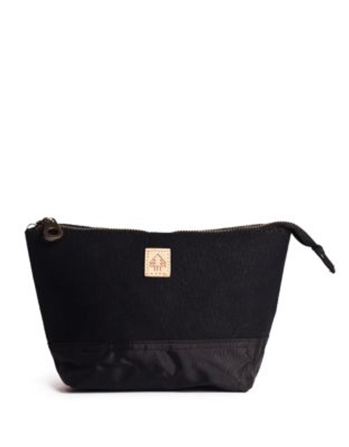Arborist Cosmetic Bag - BLACK