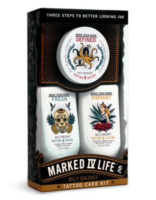 Billy Jealousy Marked IV Life Tattoo Care Kit
