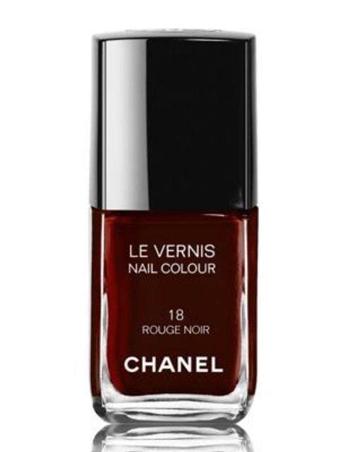 Chanel LE VERNIS <br> Nail Colour - ROUGE NOIR