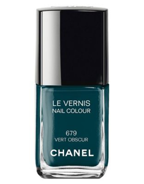 Chanel LE VERNIS <br> Nail Colour - 679 VERT OBSCUR