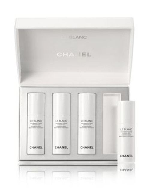 Chanel LE BLANC Intensive Night Brightening Treatment - 4 X 7 ML