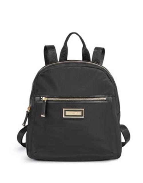 Calvin Klein Belfast Nylon Backpack - BLACK/GOLD