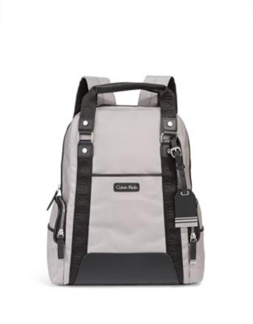 Calvin Klein Parker Nylon Backpack - GREY