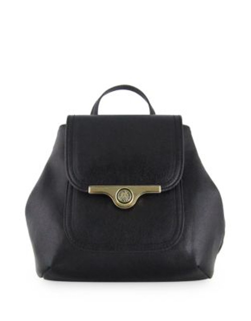 Anne Klein String Me Along Small Backpack - BLACK