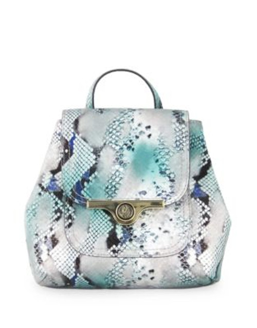 Anne Klein String Me Along Small Backpack - BLUE MULTI