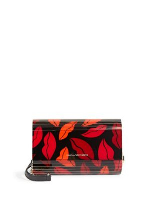 Diane Von Furstenberg Twilight Printed Clutch - KISS
