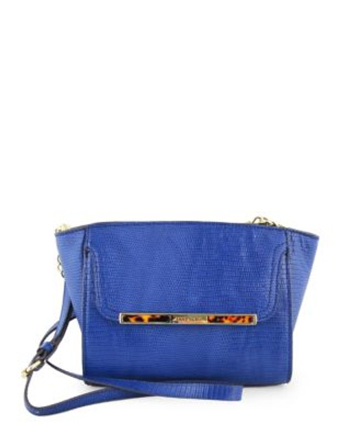 Anne Klein Out of the Shell Small Cross Body - INDIGO