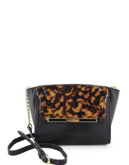 Anne Klein Out of the Shell Small Cross Body - NATURAL/BLACK