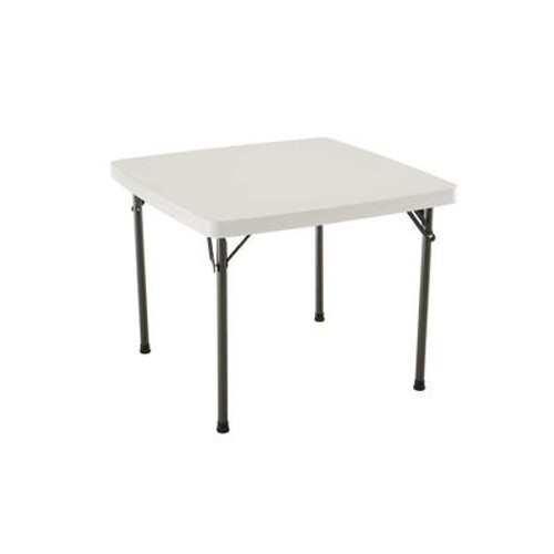 37 Inch Square Card Table - Almond
