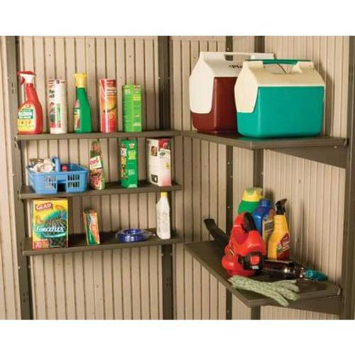 5 Piece 14x30 Shelf Kit - 11 Foot Wide Shed