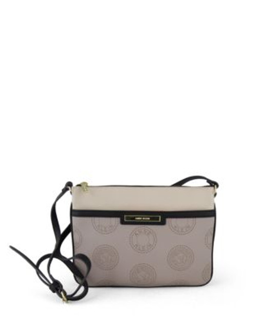 Anne Klein New Recruits Crossbody Bag - GREY