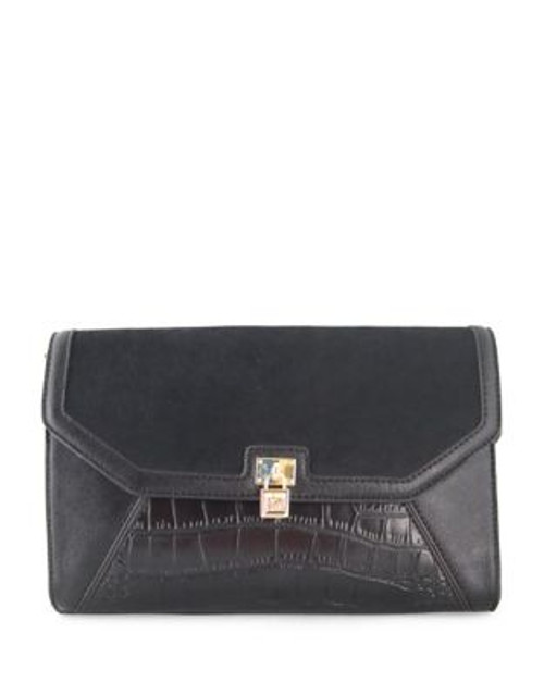 Anne Klein Greatest Hits Small Crossbody Bag - BLACK