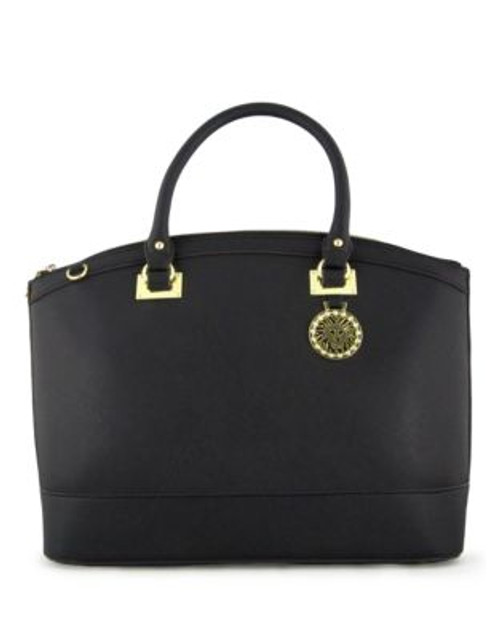 Anne Klein New Recruits Satchel - BLACK