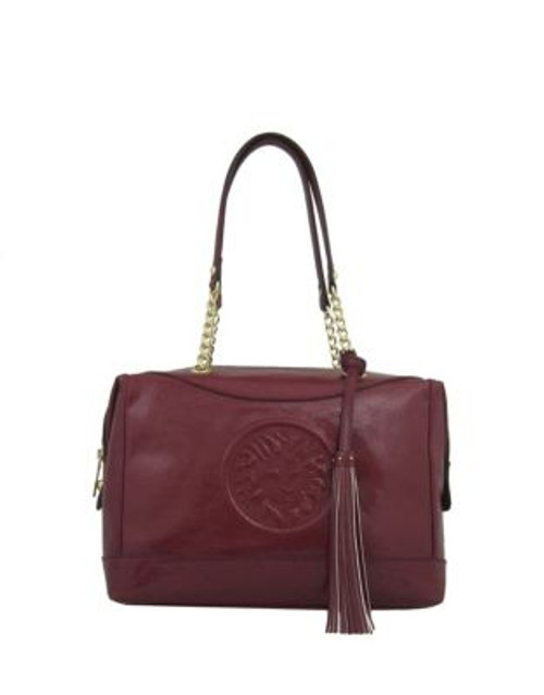 Anne Klein Leo Legacy Satchel - RED