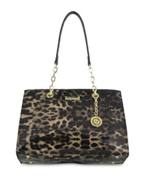Anne Klein Coast Is Clear Leopard Print Small Tote - LEOPARD