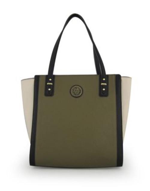 Anne Klein Front Runner Shopper Bag - GREEN