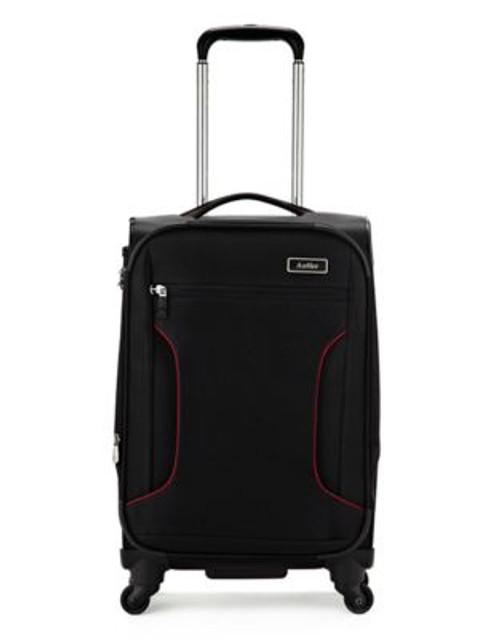 Antler Cyberlite 21.5 Inch Suitcase - BLACK - 21