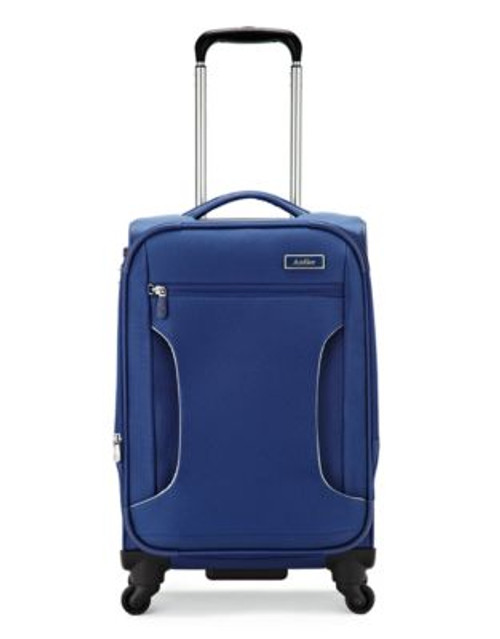 Antler Cyberlite 21.5 Inch Suitcase - BLUE - 21