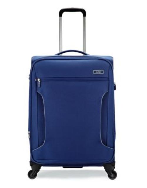 Antler Cyberlite 25 Inch Suitcase - BLUE - 25