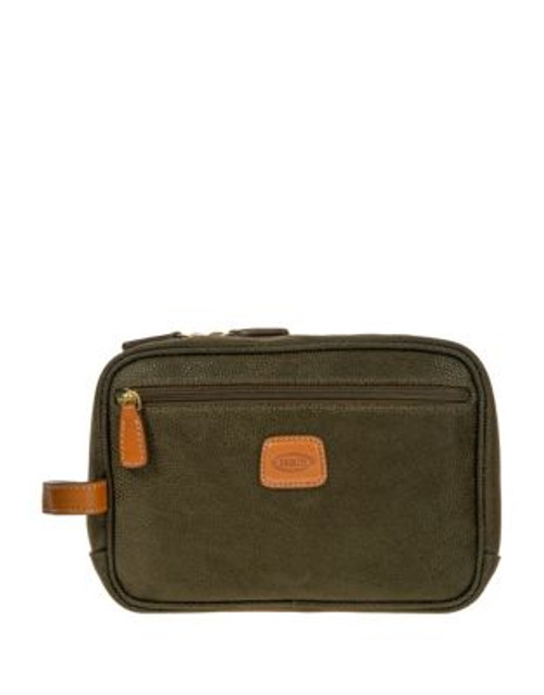 Bric'S Life Traditional Shave Case - OLIVE