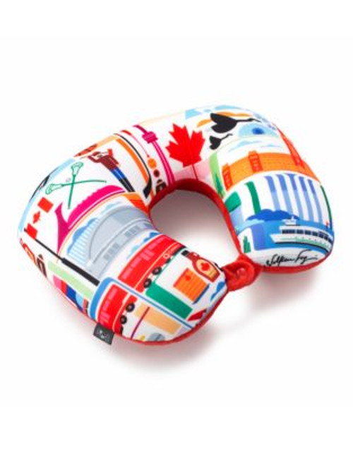 Heys FVT Canada Two In One Travel Pillow - ASSORTED