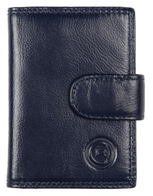 Club Rochelier Traditional Jumbo Card Holder - NAVY