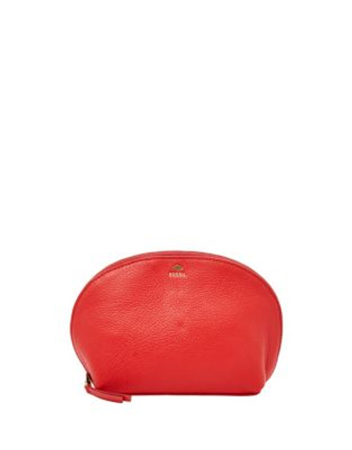 Fossil Cosmetics Case - RED