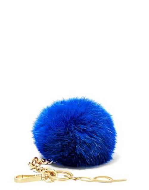 B Brian Atwood Bobbe Faux Fur Keychain - COBALT