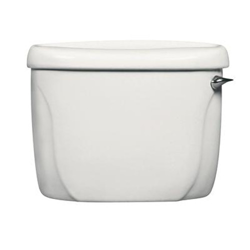 Cadet Toilet Tank Only with Right Hand Trip Lever in White