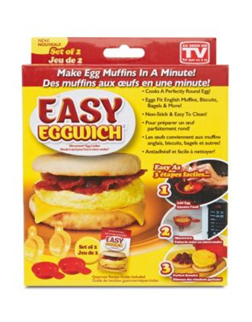 As Seen On Tv Easy Eggwich Microwave Egg Cooker
