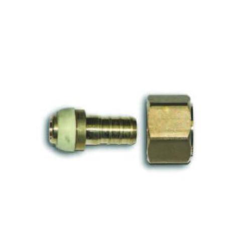 1/2 Inch Barb X 1/2 Inch Female Swivel Female Pipe Thread Adapter