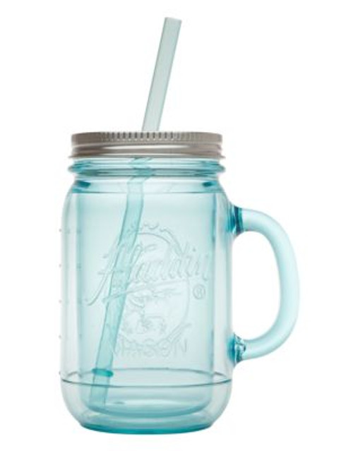 Aladin 20oz Original Insulated Mason Tumbler - BLUE - 0.6 L