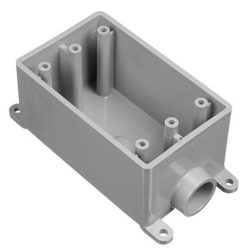 Outdoor Weatherproof FSE Single Gang PVC Device Box – 1/2 In