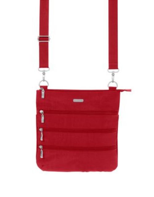 Baggallini Big Zipper Bagg - RED