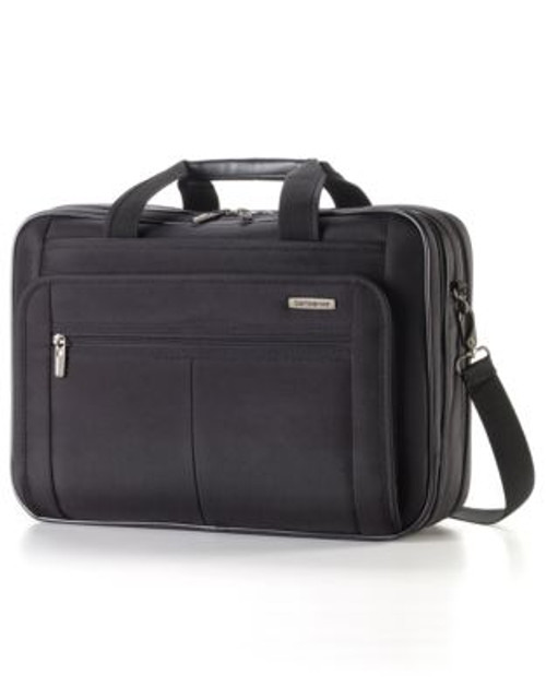 Samsonite Classic 2 - 3 Gusset Brief 15.6 Inch With RFID - BLACK - 15