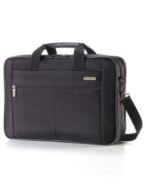 Samsonite Classic 2 - 2 Gusset Brief 17 Inch With RFID - BLACK - 17